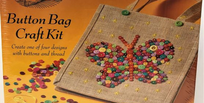 House of Crafts Button Bag Craft Kit