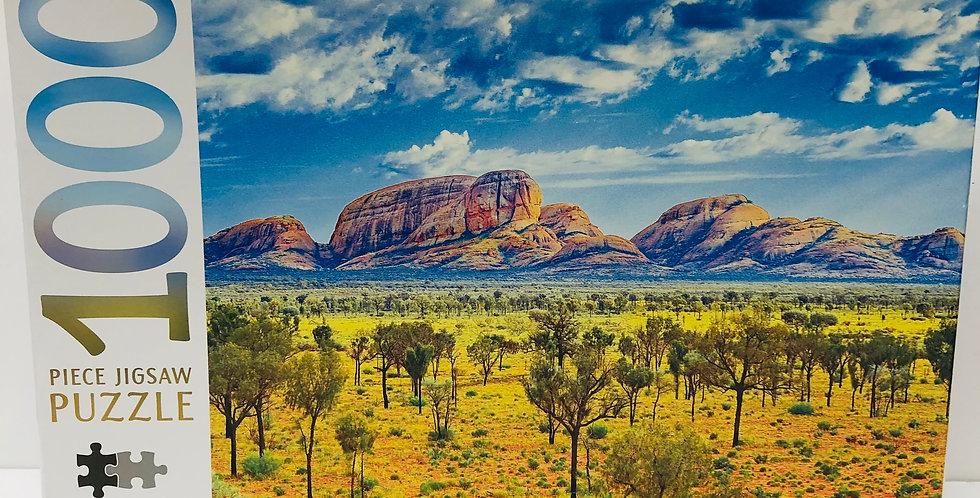 Mindbogglers 1000 Piece Puzzle: Uluru-Kata Tjuta National Park Australia