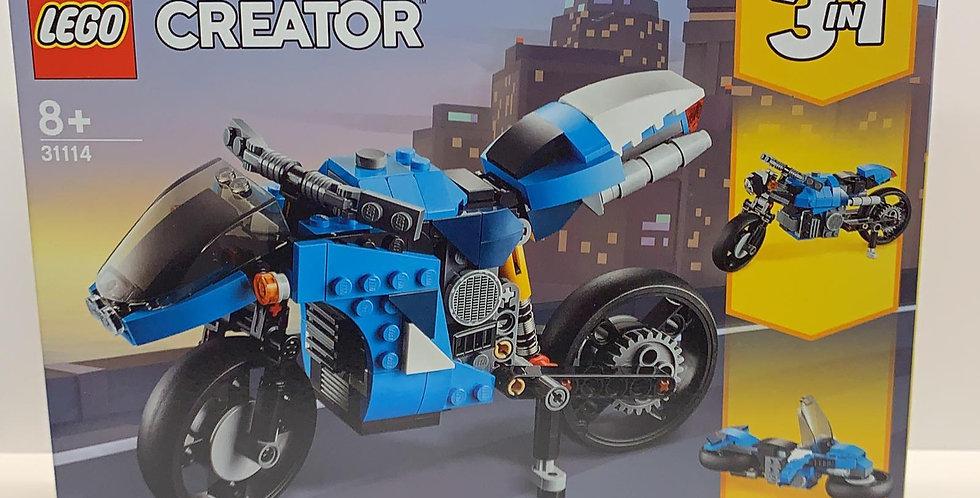 Creator Motorcycle 3 in 1