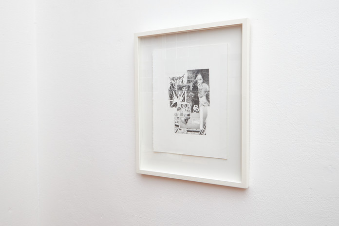 Sam Waite  'Super Saiyan Porn' graphite on arches, 50 x 40 (framed)