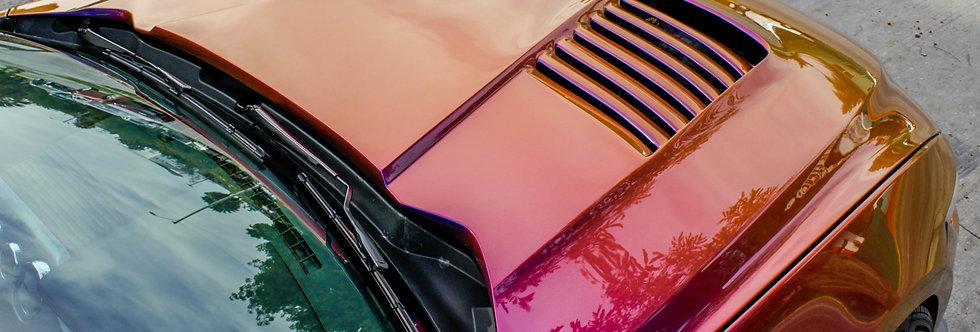 2015 - 2017 Mustang Sigala Fiberglass Heat Extractor Hood