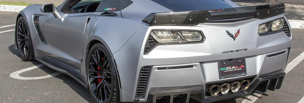 2014+ Corvette Z06 Style Carbon Fiber Winglets