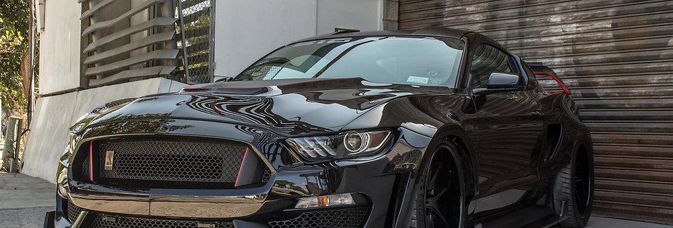 2015 - 2017 Mustang Fiberglass GT350RR Widebody Kit