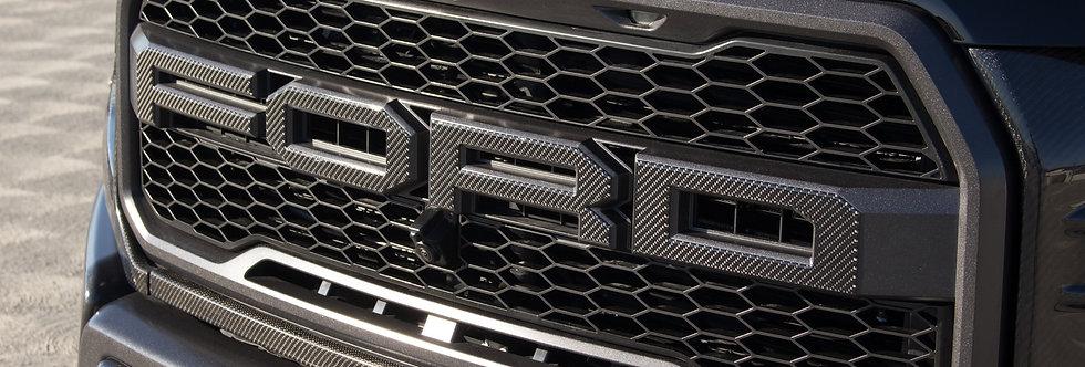 2017+ Raptor Carbon Fiber Front Grille Overlays
