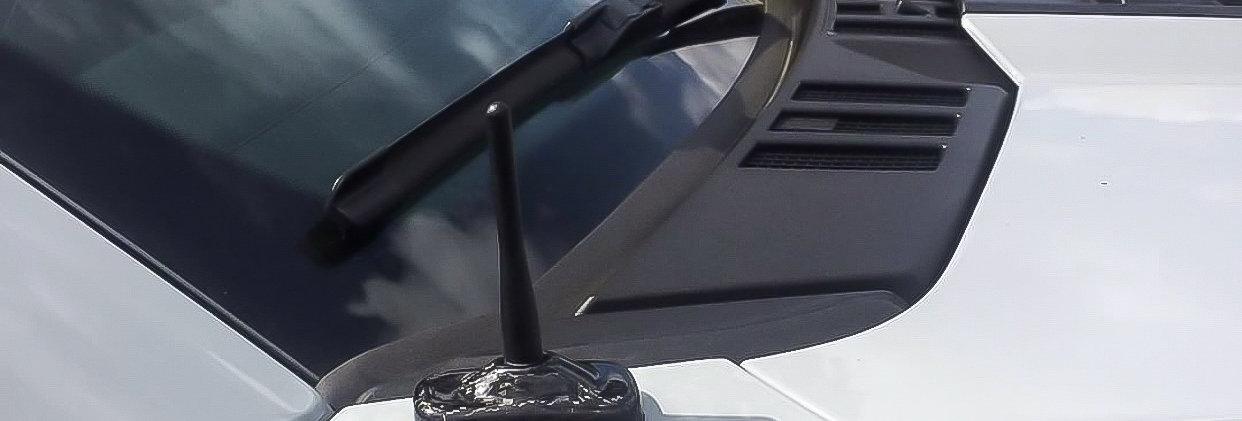 2017+ Raptor Carbon Fiber Antenna Cover   Sigala Designs