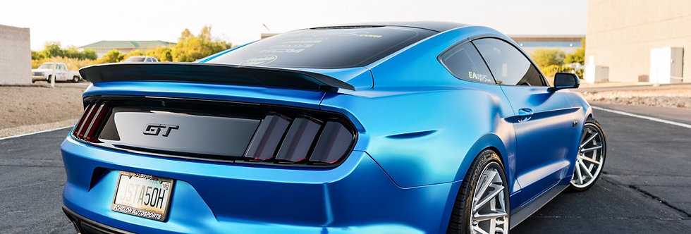 2015 - 2019 Mustang GT350 Fiberglass Track Pack Style Spoiler