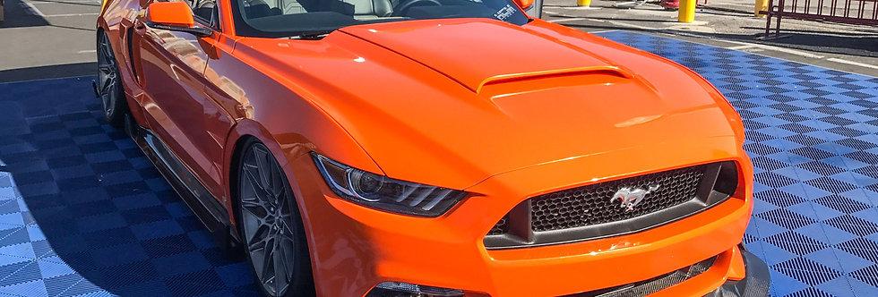 2015 - 2017 Mustang Carbon Fiber Sigala Front Splitter