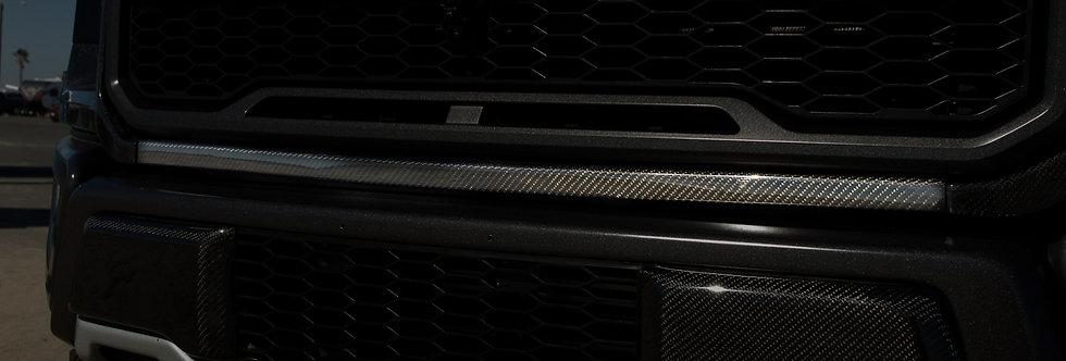 2017+ Raptor Carbon Fiber Front Grille Molding