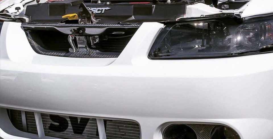 1999 - 2004 Mustang Carbon Fiber Grille Delete