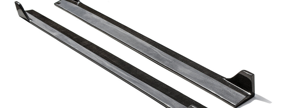2015 - 2017 Mustang Carbon Fiber Sigala Side Extensions