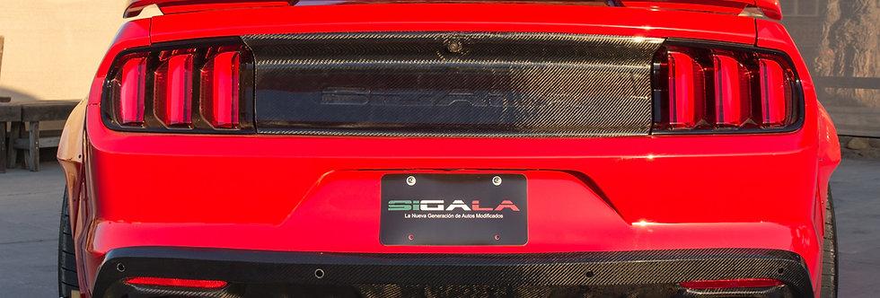 2015 - 2017 Mustang Carbon Fiber Sigala Rear Diffuser