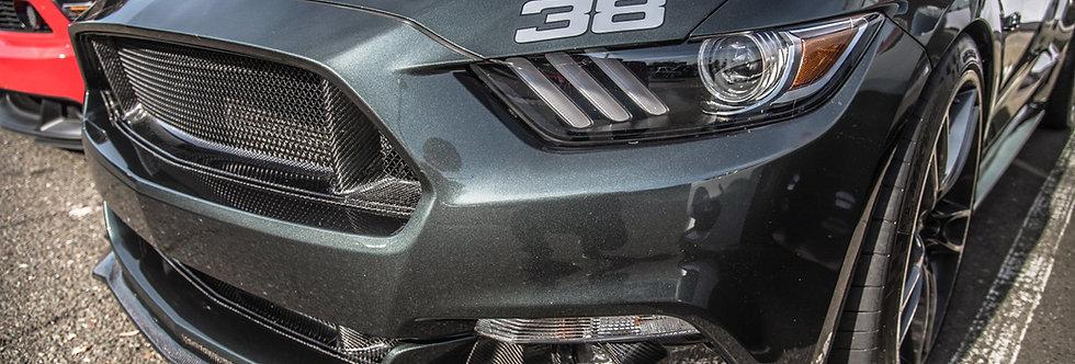 2015 - 2017 Mustang Carbon Fiber OEM Style Front Lip