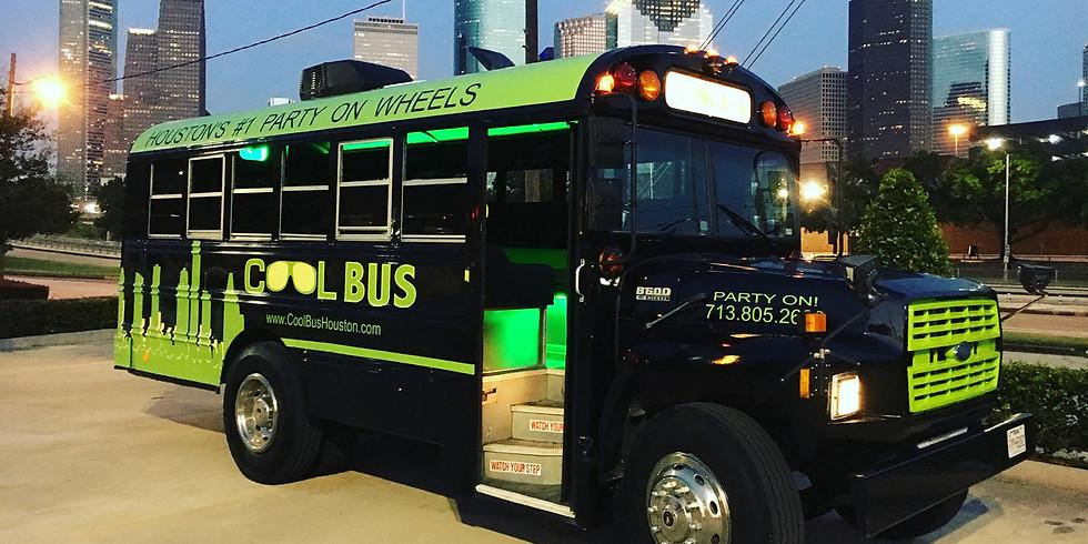 Cool Bus Christmas Lights Tour
