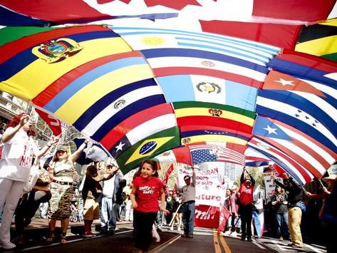 Eu sou apenas um país latinoamericano