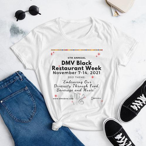 2021 DMVbrw Women's Short Sleeve Event Week T-shirt