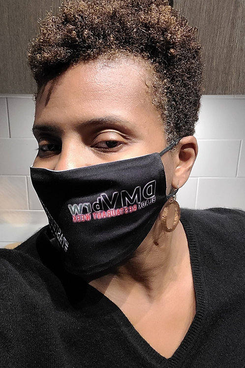 DMV BLACK RESTAURANT WEEK OFFICIAL MASKS