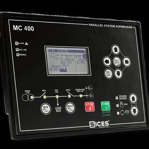 Módulo paralelismo da rede com geradores MC400