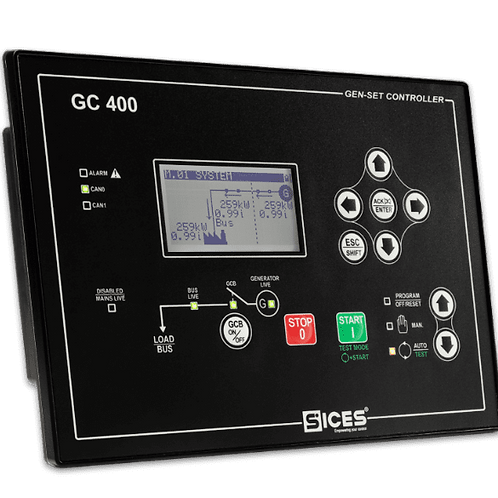 Módulo controle paralelismo de geradores GC400