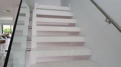 Porcelain Wraped Staircase