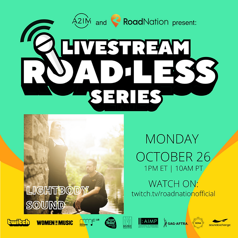 "Road Nation  A2IM presents: ""Roadless"" livestream"