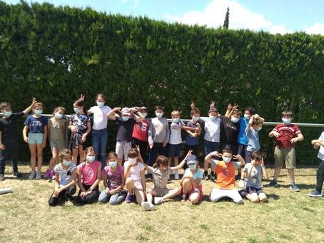 Période 5:du 3 mai au 6 juillet Maubec Arthur Rimbaud #CE2CM1 M Tempier 24 enfants