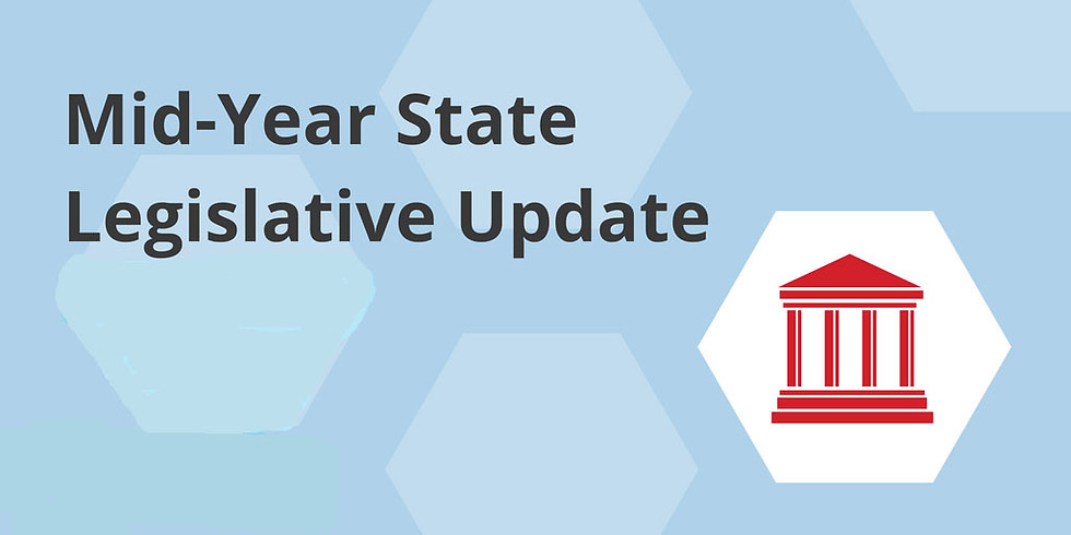 May Luncheon - Legislative Update