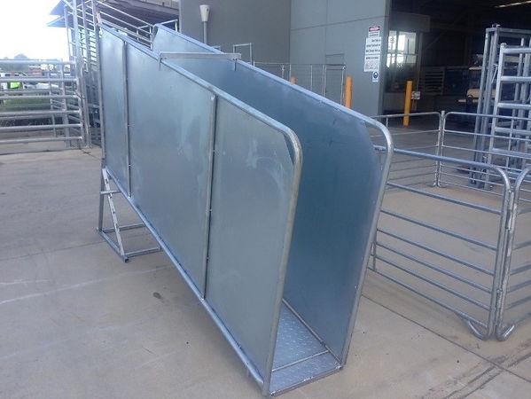 Senturion Steel Supplies Sheep Ramp Coll