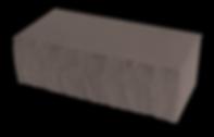 Кирпич декоративный колотый коричневый
