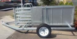 Senturion Steel Supplies Sheep Yard Trai