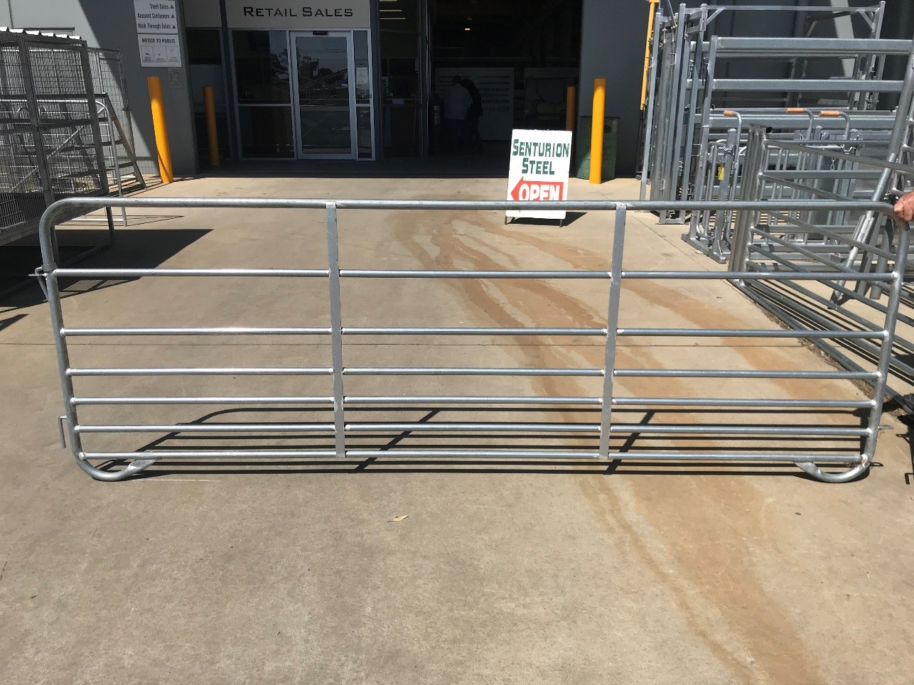 Senturion Steel Supplies Portable Sheep