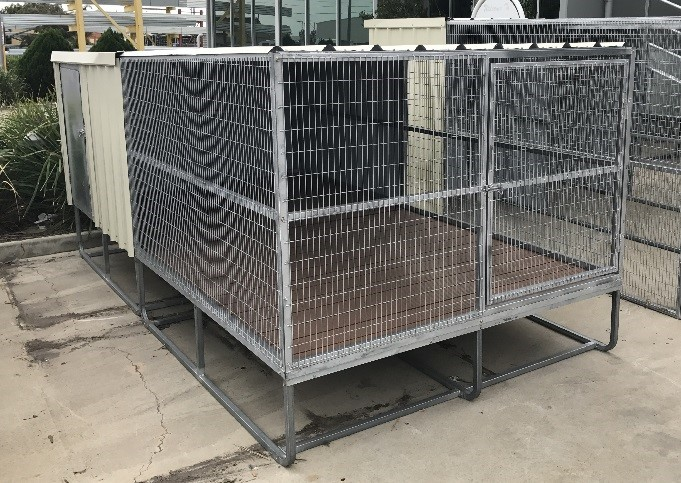 Senturion Steel Supplies Dog Kennel - Ra