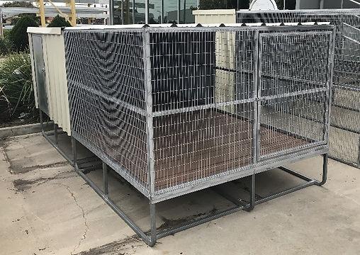 Senturion Steel Supplies Dog Kennel - Ra