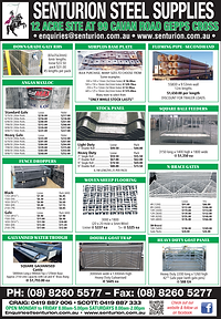 Senturion Steel Supplies - Stock Journal