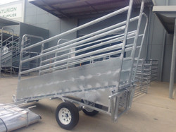 Senturion Steel Supplies Cattle Ramp Tra