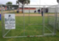 Senturion Steel Supplies Dog Enclosure 0