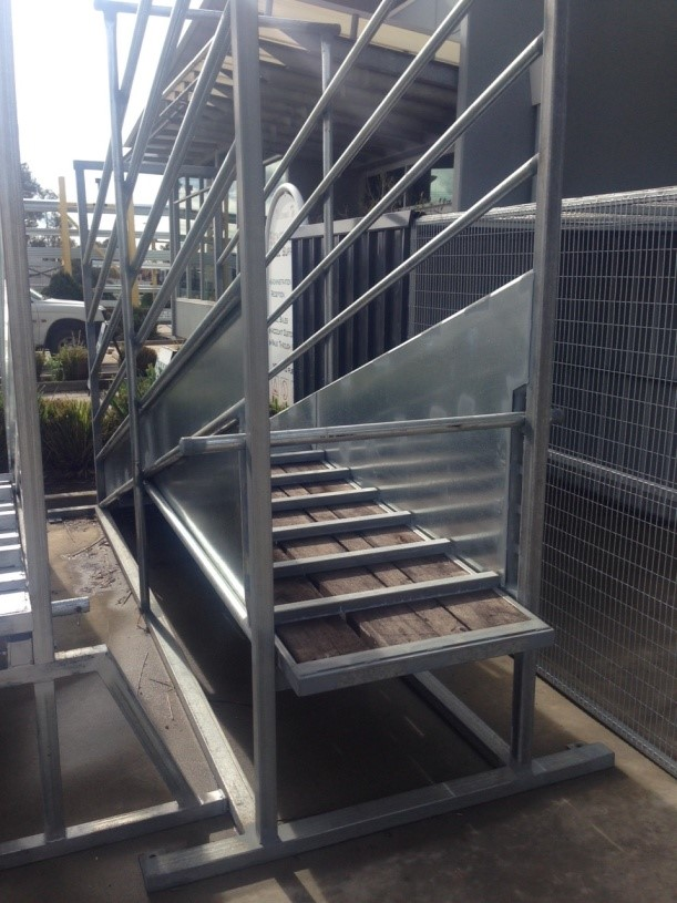 Senturion Steel Supplies Cattle Ramp (Wo