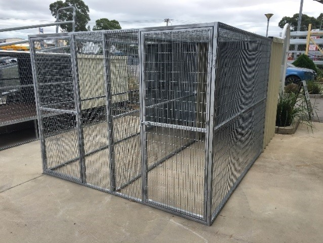 Senturion Steel Supplies Dog Kennel with
