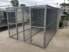 Senturion Steel Supplies Dog Kennel with