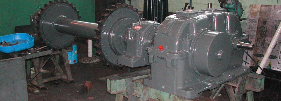FLENDER GEARBOX ASSEMBLY