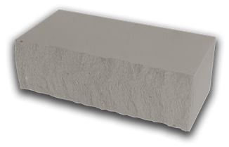 Кирпич декоративный колотый серый