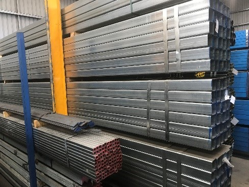 Senturion Steel Supplies Galvanised RHS