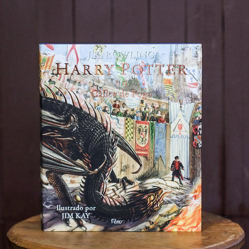 Harry Potter e o Cálice de Fogo - Livro Ilustrado