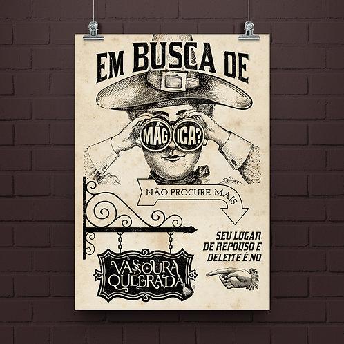 Poster Vassoura