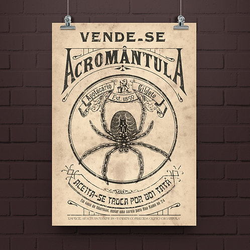 Poster Acromântula