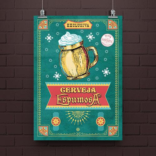 Poster Espumosa