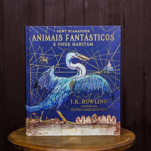 Animais Fantásticos - Livro Ilustrado