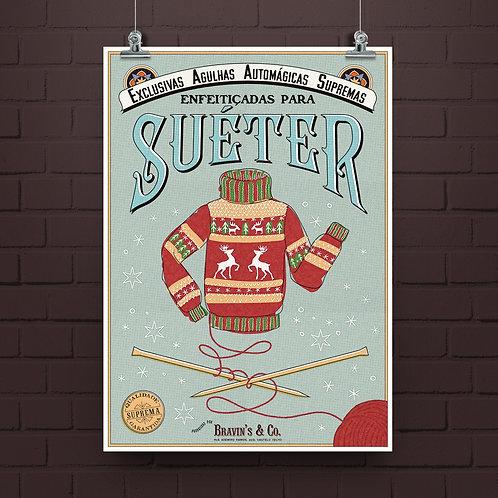 Poster Suéter