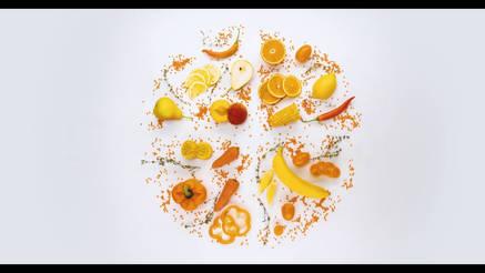 Food kaleidoscope