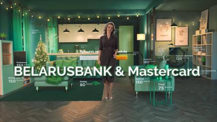 Advertising video for BELARUSBANK & Mastercard