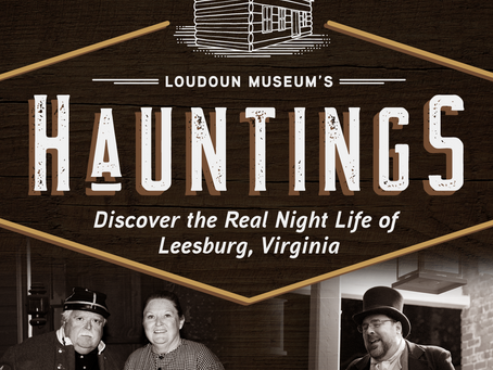 Loudoun Museum's Hauntings Tours return this month
